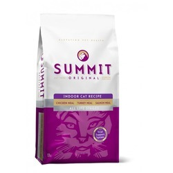 Summit Holistic Original 3 Meat, Indoor Cat Recipe CF сухой корм холистик с цыпленком, лососем и индейкой для домашних котят и кошек