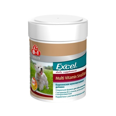 8 in 1 8in1 Excel Small breed Multi Vitamin 8 in 1 8in1 excel brewers yeast for large breeds