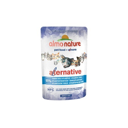 Almo Nature Almo Nature Alternative Adult Cat Atlantic Tuna alternative® поло