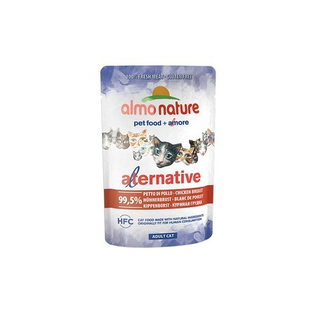 Almo Nature Almo Nature Alternative Adult Cat Chicken Breast alternative® поло