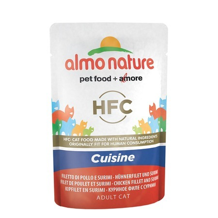 Almo Nature Almo Nature Classic Adult Cat Cuisine Chicken Fillet & Surimi все цены