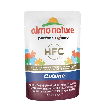 Almo Nature Almo Nature Classic Adult Cat Cuisine Tuna Fillet & Lobster все цены
