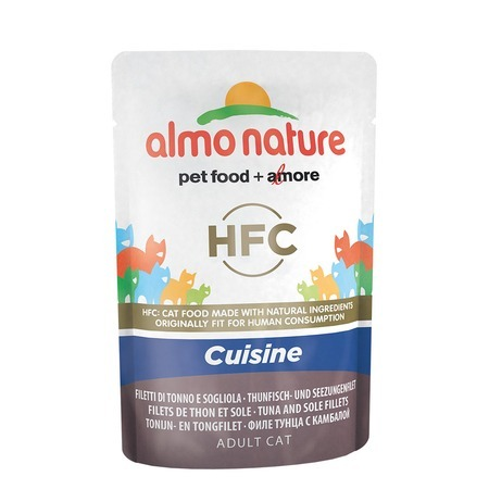 Almo Nature Almo Nature Classic Adult Cat Cuisine Tuna & Sole Fillets все цены