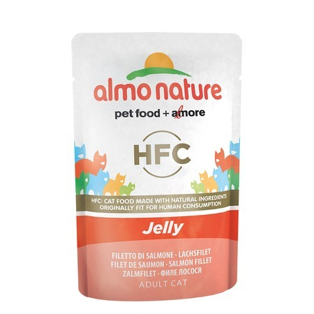 Almo Nature Almo Nature Classic Adult Cat Nature Jelly Salmon все цены