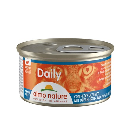 Almo Nature Almo Nature Daily Menu Adult Cat Mousse Oceanic fish 85 г х 24 шт almo nature almo nature daily menu adult cat veal