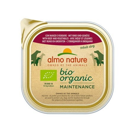 Almo Nature Almo Nature Daily Menu Adult Dog Bio Pate Beef&Vegetables стоимость