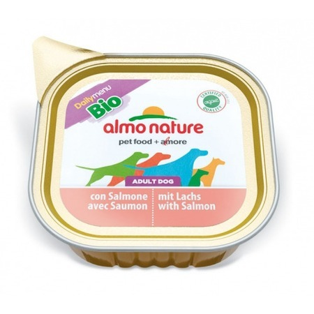 Almo Nature Almo Nature Daily Menu Adult Dog Bio Pate Salmon стоимость