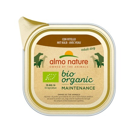 Almo Nature Almo Nature Daily Menu Adult Dog Bio Pate Veal almo nature almo nature daily menu adult cat veal