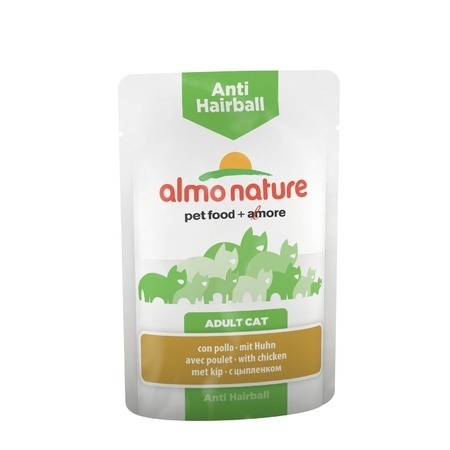 Almo Nature Almo Nature Functional Adult Cat Anti-Hairball with Chicken влажный корм для кошек almo nature classic adult cat with chicken fillet 0 33 кг