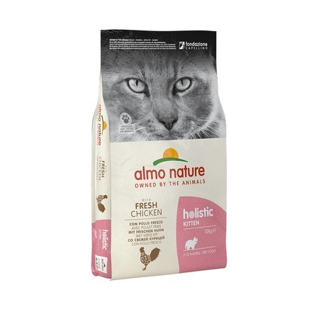 Almo Nature Almo Nature Holistic Kitten Chicken & Rice 12 кг все цены
