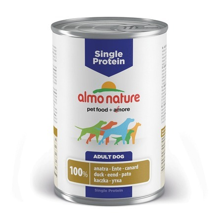 Almo Nature Almo Nature Single Protein Adult Dog Duck все цены