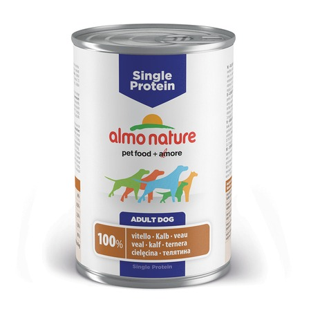 Almo Nature Almo Nature Single Protein Adult Dog Veal все цены