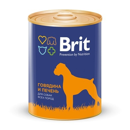 Brit Brit Premium RED MEAT & LIVER - 850 гр х 6 шт