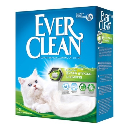 Ever Clean Наполнитель Ever Clean Extra Strong Clumping Scented комкующийся с ароматизатором