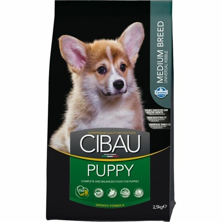 Farmina Farmina Cibau Puppy Medium - 2,5 кг сухой корм farmina cibau sensitive lamb medium