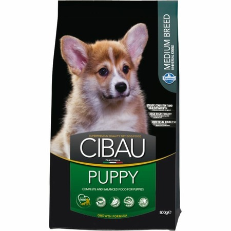 Farmina Farmina Cibau Puppy Medium - 800 г сухой корм farmina cibau sensitive lamb medium