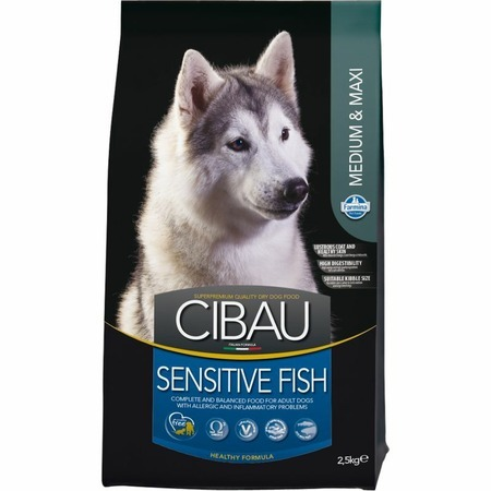 Farmina Cibau Sensitive Fish Medium & Maxi - 2,5 кг  Превью