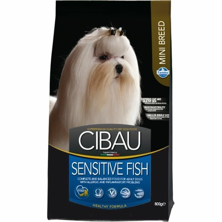 Farmina Farmina Cibau Sensitive Fish Mini - 800 г сухой корм farmina cibau sensitive lamb medium