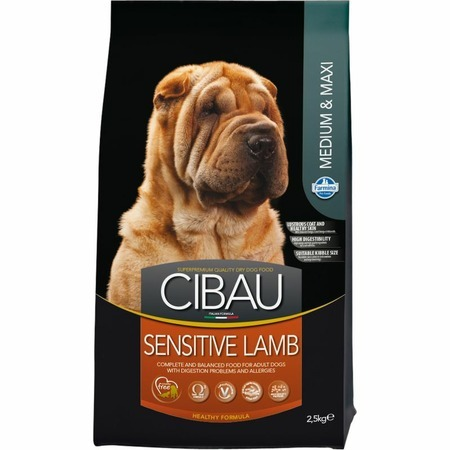 Farmina Farmina Cibau Sensitive Lamb Medium/Maxi - 2,5 кг сухой корм farmina cibau sensitive lamb medium