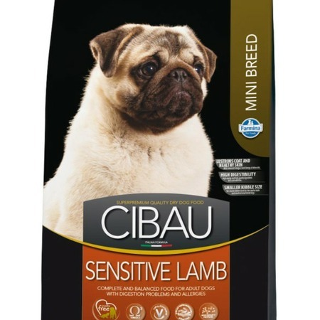 Farmina Farmina Cibau Sensitive Lamb Mini корм для собак 800 гр сухой корм farmina cibau sensitive lamb medium