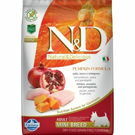 Farmina Farmina N&D Dog GF Pumpkin chicken & pomegranate adult mini free shipping 5pcs gf go7300 b n a3 gf go7300 n a3 in stock