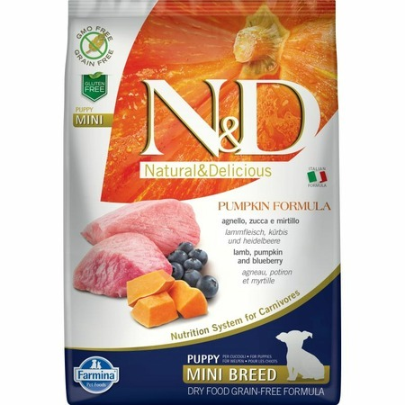 Farmina Farmina N&D Dog GF Pumpkin lamb & blueberry puppy mini free shipping 5pcs gf go7300 b n a3 gf go7300 n a3 in stock