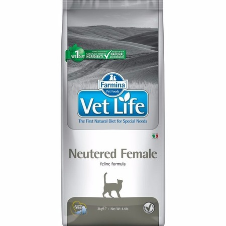 лучшая цена Farmina Farmina Vet Life Natural Diet Cat Neutered Female - 2 кг