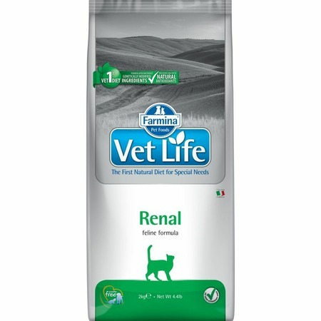 лучшая цена Farmina Farmina Vet Life Natural Diet Cat Renal - 2 кг