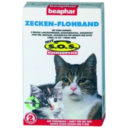 Beaphar SOS Flea and Tick Collar