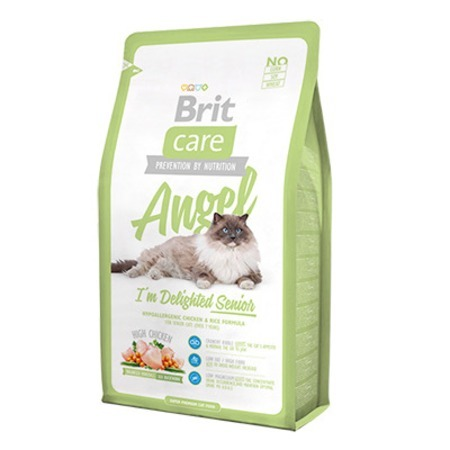 Brit Brit Care Cat Angel Delighted Senior для пожилых кошек 2 кг