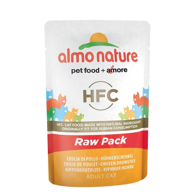 Almo nature Almo Nature Classic Raw Pack Adult Cat Chicken Drumstick almo nature almo nature classic adult cat chicken