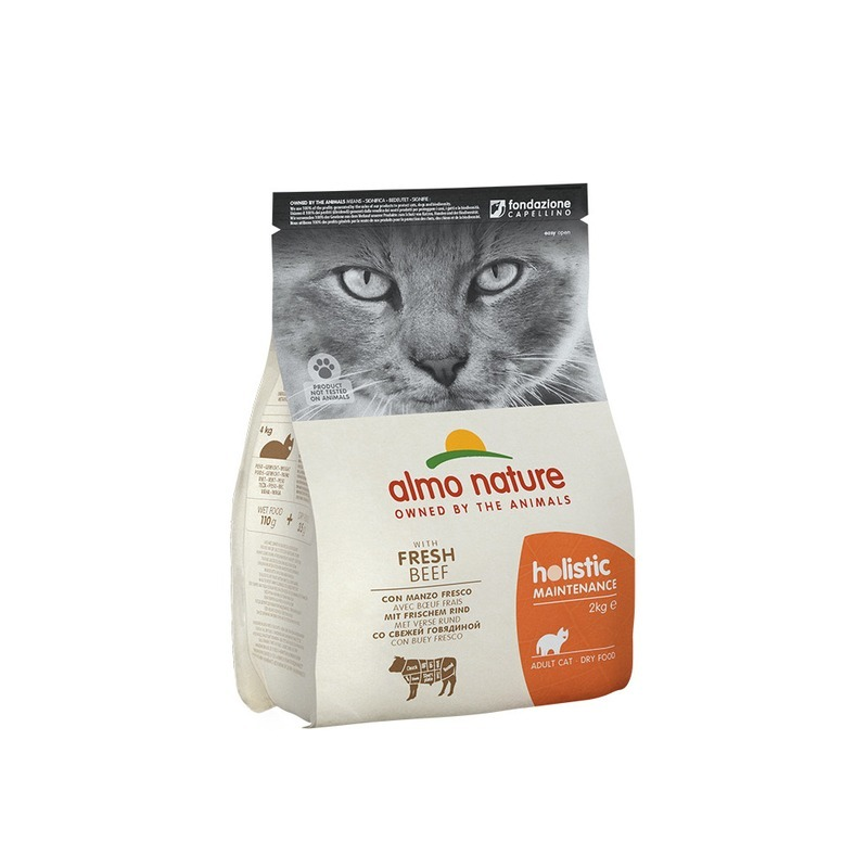 Almo nature Almo Nature Holistic Adult Cat Beef & Rice 2 кг