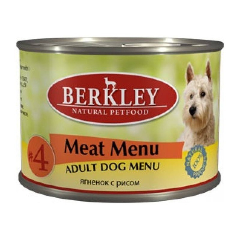Berkley Berkley Adult Dog Menu Meat Menu № 4