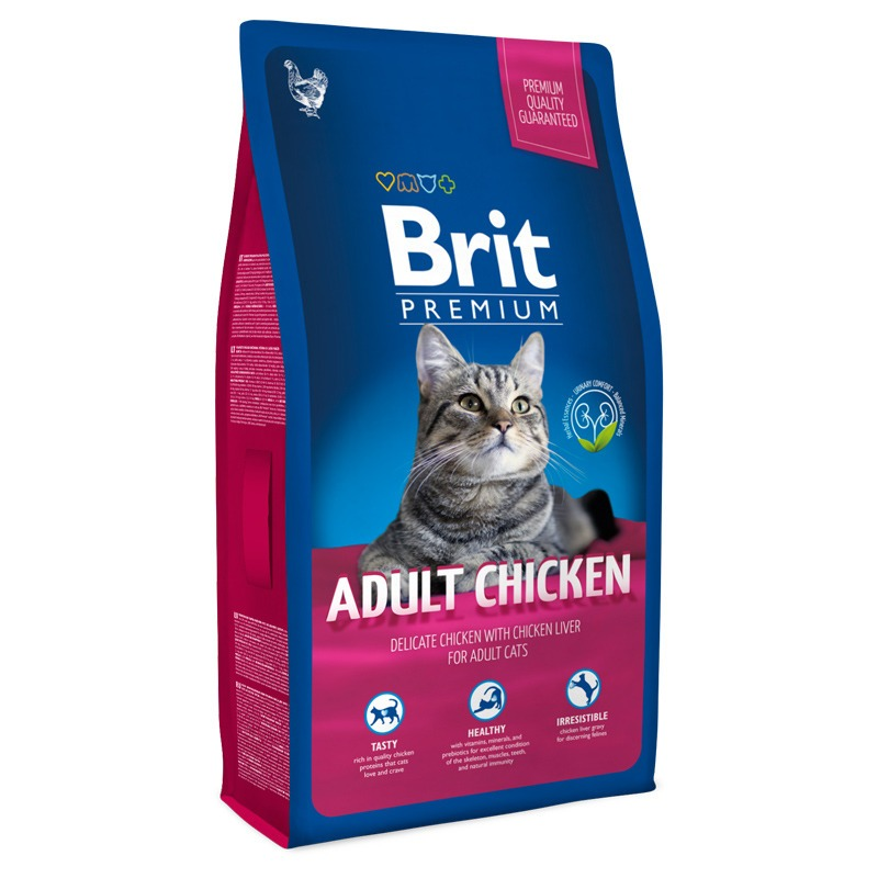 цена на Brit Brit Premium Cat Adult Chicken - 1,5 кг