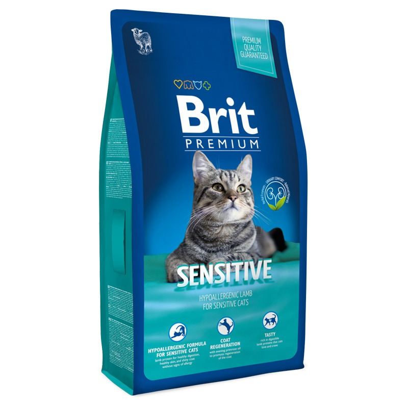 Brit Premium Cat Sensitive - 1,5 кг