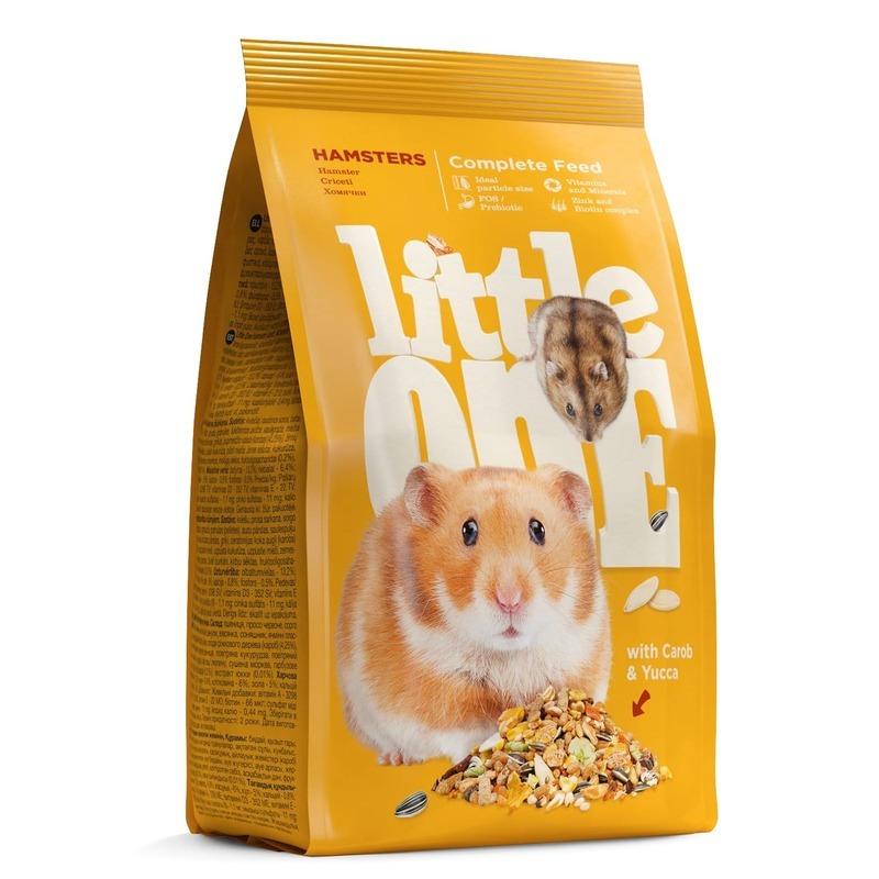 Little One Little One корм для хомяков - 400 г корм для хомяков little one hamsters 400 г