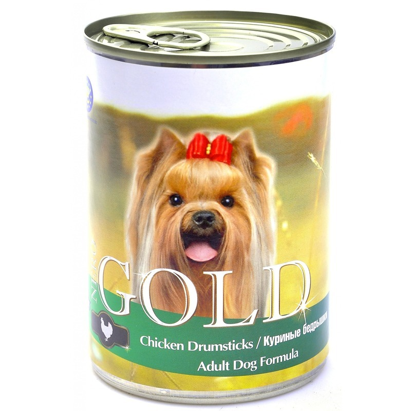 NERO GOLD Nero Gold Adult Dog Formula Chicken Drumsticks 1,25 кг х 12 шт