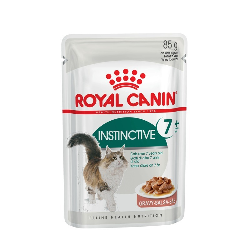 Royal Canin Royal Canin Instinctive +7 - 85 гр х 12 шт cat wet food royal canin instinctive 7 spider for cats over 7 years old pieces in sauce 24 85 g